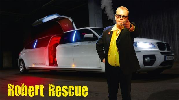 """Robert Rescue """"Das ist alles eins zu eins erfunden"""" auf der BuchBerlin"""